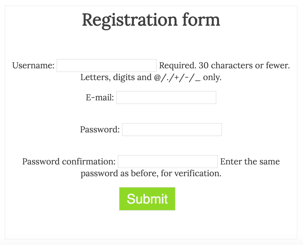 Registration redux styling with crispy forms code help hello web screen shot 2016 04 02 at 084521g1288x1040 104 kb falaconquin